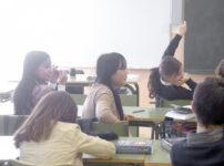 学校の教室の様子